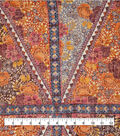 Silky Gauze Fabric 56\u0022-Boho Autumn