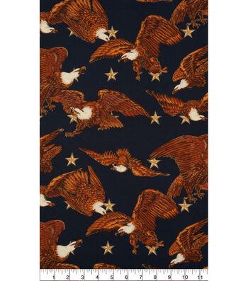 Patriotic Cotton Fabric 45''-Pride of America