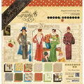 Graphic 45 Deluxe Collector\u0027s Edition Pack 12\u0022X12\u0022-Times Nouveau
