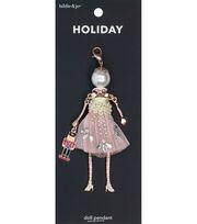 hildie & jo Holiday Doll Pendant-Ballerina Clara, , hi-res