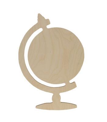 Walnut Hollow Unfinished Wood Surface Globe
