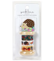 Park Lane Paperie 3 pk Washi Tape Rolls with Spool-Hedgehog, , hi-res
