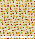 Snuggle Flannel Fabric-I Heart Tacos