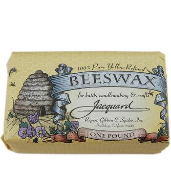Jacquard Beeswax-1 lb./Yellow