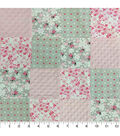 Nursery Fabric -Lady Bug Patchwork Quilt