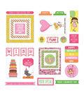 Birthday Girl Wishes Ephemera Cardstock Die-Cuts 26/Pkg