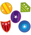 Super Power Shields Cut Outs 36/pk, Set Of 6 Packs
