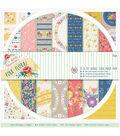Papermania Folk Floral 12\u0027\u0027X12\u0027\u0027 Double-Sided Paper Pack