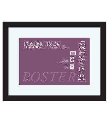 Poster Float Frame 18''x24''-Black