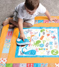 Storytime Quilt & Stuffie Kit-ABC Travel with Me