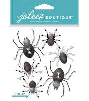Black And White Metallic Spiders, , hi-res