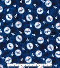 LA Dodgers Flannel Fabric 42\u0022-Tie Dye