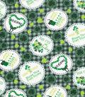 St. Patrick\u0027s Day Fabric -Irish Home