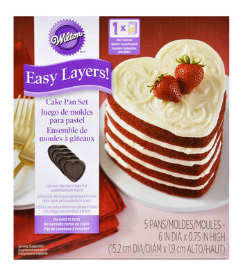 Wilton Easy Layers! Cake Pan-Heart