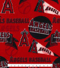 Los Angeles Angels Fleece Fabric 58\u0022-Vintage