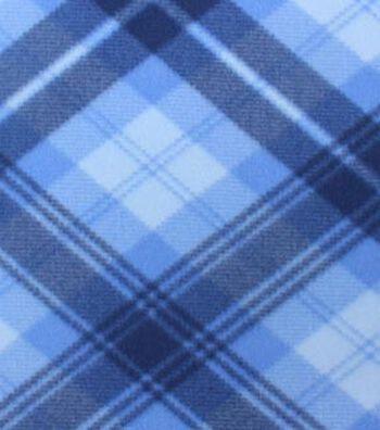 """Blizzard Fleece Fabric 59""""-Daydream Plaid"""