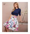 Simplicity Pattern 8609 Misses\u0027 Skirts & Knit Tops-Size P5 (12-20)