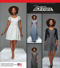 Simplicity Patterns Us8015D5-Simplicity Misses\u0027 And Miss Petite Project Runway Dresses-4-6-8-10-12