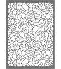 Stamperia Stencil G 8.27\u0027\u0027x11.69\u0027\u0027-Crackle