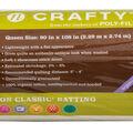 Fairfield Soft N Crafty Cotton Classic Batting 90\u0022x108\u0022