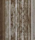Keepsake Calico Cotton Fabric -Beige Distress Wood