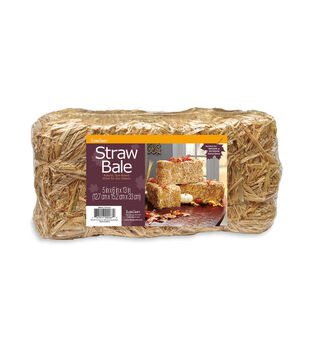 Floracraft 13'' Straw Bale
