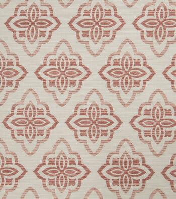 "Jaclyn Smith Upholstery Fabric 53""-Accurate/Blush"