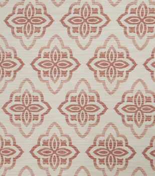 """Jaclyn Smith Upholstery Fabric 53""""-Accurate/Blush"""