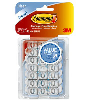Command Clear Decorating Hooks Value Pack