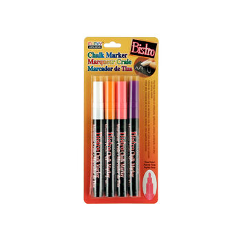 Bistro Fine Point Chalk Marker Set 4/Pkg