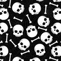 Maker\u0027s Halloween 60\u0027\u0027 Round Tablecloth-Skulls & Bones