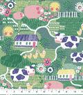 Snuggle Flannel Fabric-Crops & Farm Animals