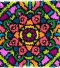 Colorful Latch Hook Kit 16\u0022X16\u0022-Mandala