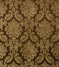 Jaclyn Smith Upholstery Fabric 54\u0022-Smirnoff /Coffee