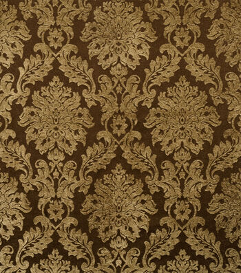 "Jaclyn Smith Upholstery Fabric 54""-Smirnoff /Coffee"