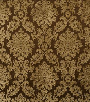 "Jaclyn Smith Upholstery Fabric 54""-Smirnoff /Coffee"