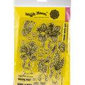 Waffle Flower Crafts Clear Stamp 5\u0022X7\u0022-Let Love Grow