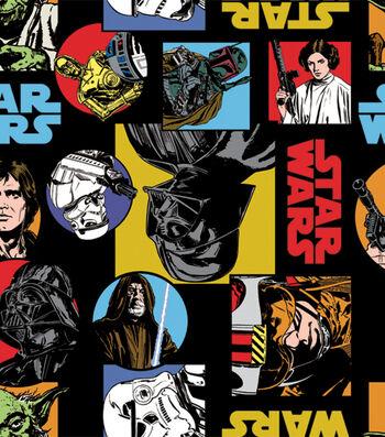 Star Wars Fleece Fabric -Cartoon Characters