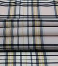 Sew Sweet Taffeta Fabric-Pink Plaid Print