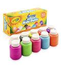 Crayola Washable Neon Paint 2oz 10/Pkg-