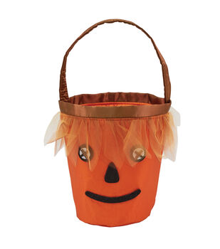 Maker's Halloween Scarecrow Trick or Treat Bag