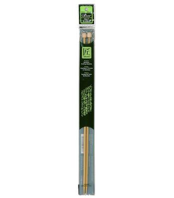 "Clover Takumi Bamboo Knit Needle-Single Pt. 13""-Size 7"