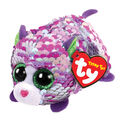 Ty Inc. Teeny Tys Sequin Purple Cat-Lilac