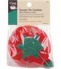 Dritz Tomato Pin Cushion W/Strawberry Emery-2.5\u0022 Multipack of 12