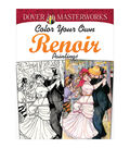 Dover Masterworks Color Your Own Renoir Paintings Coloring Book