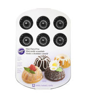 Wilton Mini Fluted Muffin Pan-Classics, , hi-res