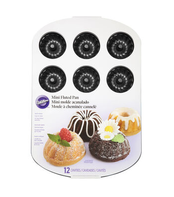 Wilton Mini Fluted Muffin Pan-Classics