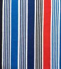 Doodles Juvenile Apparel Fabric 57\u0022-Stripes on Stripes