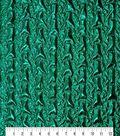 Glitterbug Puckered Fabric 55\u0027\u0027-Mermaid