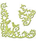 Spellbinders Shapeabilities Die D-Lites-Bird Scrolls